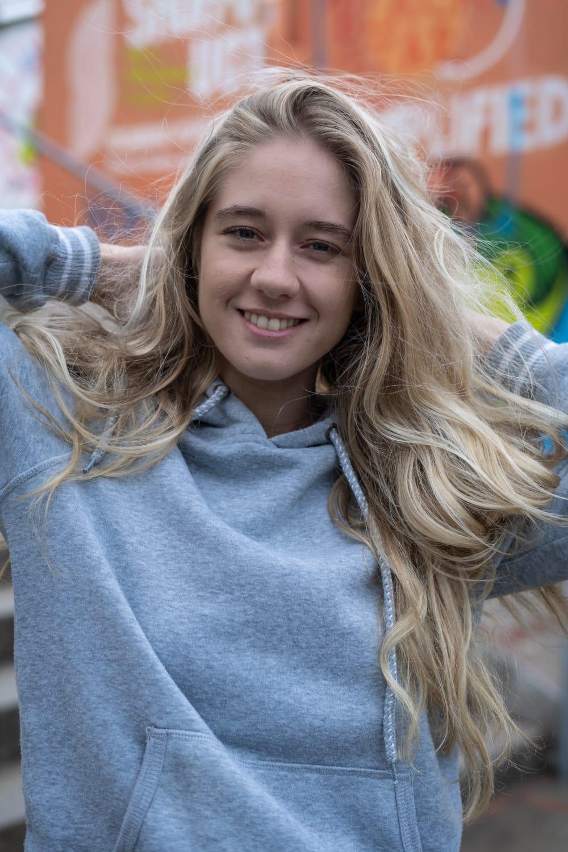 Air-touch melír dlouhé vlasy